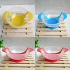 NEW anti-drop Training Sucker Bowl chlidren TPE tableware Baby Care Kid Feeder