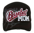 TopHeadwear Sports Mom Distressed Adjustable Cadet Cap
