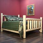 Lakeland Mills Timber Log Panel Bed
