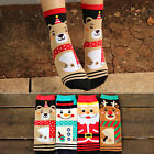 Lot 5/10Pair Winter Christmas series Colorful 100% Cotton Socks Unisex