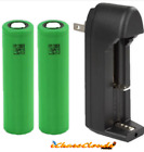 SAMSUNG 25R Rechargeable Battery High-Drain-Flat-Top 3.7V 18650 VAPE LOT MENU