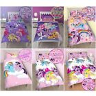 MY LITTLE PONY SINGLE DUVET COVER SETS GIRLS BEDROOM BEDDING VARIOUS DESIGNS