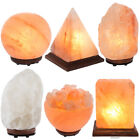 Himalayan Salt Lamp Natural Crystal Sea Salt Rock Night Light Electric Bulb Cord