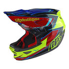 Troy Lee Designs 2017 D3 Composite Helmet Cadence Yellow/Red Adult All Sizes