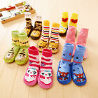 Adorable Infant Child Toddler Socks Anti-slip Sock Shoes Boots Floor Slipper