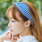 Korean Style Women Wide Elastic Hair Bands Headdress Bow knot Turban For Girls