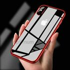 Shockproof 360° Silicone Protective Clear Soft TPU Case Cover For Apple iPhone X