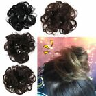 Women Fashion Curly Elastic Scrunchies Lady Hair Band Hairpiece Synthetic Newest