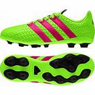 adidas ACE 16.4 FXG Junior Football Boots Green / Pink / Black All Sizes rrp£40