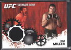 JIM MILLER 2010 TOPPS UFC ULTIMATE GEAR FIGHTER WORN GEAR RELIC PATCH SP $15