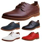 idomcats Brogues Mens faux leather Office Smart Casual Wedding Shoes Plus Size