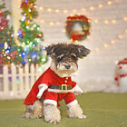 Funny Cute Pet Cat Dog Santa Claus Xmas Cosplay Coat Gift Costume Outfit Clothes