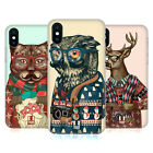 HEAD CASE DESIGNS HIPSTER TIERE IM PULLOVER BACK COVER FÜR APPLE iPHONE HANDYS