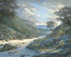 Larry Dyke Shadows on the River Open Edition Giclee on Canvas