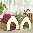 Pet Dog Cat Bed Kennel Nest Removable Puppy Portable Dog Cave Cute Soft Cushions