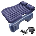 Universal Inflatable Mattress Car Air Bed Travel Camping Seat Cushion w/ Pillows