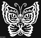Cool TIGER BUTTERFLY Decal/Sticker #1
