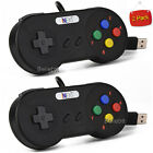1x/2x Super Nintendo SNES USB Controller Game Pad for PC Raspberry Pi 3 Retropie