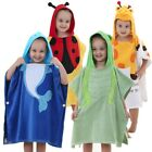 green frog Cute Kids Bath Hooded Towel Beach 0-6 Years Baby Washcloth Bathrobe