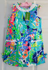 New Lilly Pulitzer LITTLE LILLY CLASSIC SHIFT 6 7 8 10 Multi Purrfect Dobby NWT