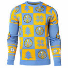 NBA Basketball Denver Nuggets Patches Crew Neck Sweater