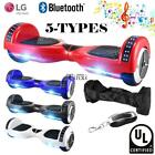 """UL Listed 6.5"""" Self Balance Electric Bluetooth +LED Light Hoverboard Scooter"""