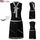 Womens Vintage Great Gatsby 1920s Roaring 20s Themed Party Deco Cocktail Dress