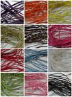 6 meters of 0.8mm thick Waxed Cotton Cord - various colours (pre cut)