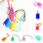 Silicone Lanyard Case Cover Holder Sling Necklace Wrist Strap For Smartphones