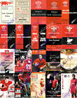 WALES v NEW ZEALAND ALL BLACKS 1946-2014 RUGBY PROGRAMMES  ***REDUCED PRICES***