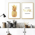 Modern Trendy Pineapple Poster Living Room TV Backdrop Wall Decor Painting Print