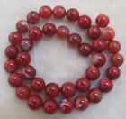 """Red Ice Fire Agate Round Loose Beads 4mm 6mm 8mm 10mm 15"""""""