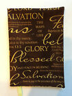 Fabric Book Cover Bible Cover Religious Print Fabric Book Cover Pick Your Size
