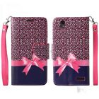 For ZTE Warp Elite N9518 Cell Phone Case Leather Wallet Credit Pouch Flip Cover