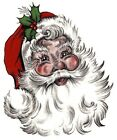 Christmas Santa Claus Select-A-Size Waterslide Ceramic Decals Bx image