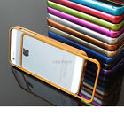 For Apple iPhone 5S 5 Luxury Real Aluminum Metal Bumper Frame Phone Case