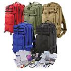 Rothco Military Trauma Kit, Medium Transport Pack w/Over 190 First Aid Supplies