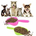 Cute Pet Dog Cat Food Feeder Shovel Scoop Tool Supplies Small Plastic Spoon WR