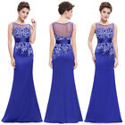 Ever-pretty Long Sexy Mermaid Cocktail Party Dresses Evening Prom Gowns 08757