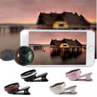 0.6X Wide-angle Lens Without Distortion Clip-on w/ Protective Bag for Phone