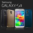 SAMSUNG GALAXY S5 SM-G900t 4G LTE UNLOCKED PHONE 12MTH Black White Gold Blue.