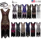 Cocktail Dress 1920s Flapper Gatsby Costume Formal Evening Prom Party Dresses