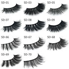 11 Style Natural Real 3D Mink Soft Long Makeup Eye Lashes Thick False Eyelash WW