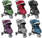 Baby Jogger City Mini Compact Lightweight 3-wheel Stroller NEW - 6 COLOR CHOICES