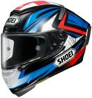 Shoei X-Fourteen Full Face Motorcycle Helmet Bradley 3 TC-1 Adult All Sizes