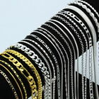 925 Sterling Silver Chain Women Men Necklace 16''-30'' Bangle Jewelry Wholesale