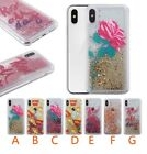 10pcs/lot Rose Fries Letters Ball Quicksand TPU PC Case For iPhone6/6P/7/7P/8P/X