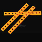2pcs 99*9mm Plastic Connect Strip Fix Frame Robotic Car Model Toy Hobby DIY Part