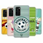 HEAD CASE DESIGNS FOOTBALL STATEMENTS SOFT GEL CASE FOR HUAWEI PHONES