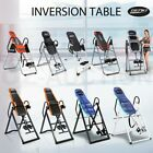 Genki Adjustable Exercise Folding Gravity Inversion Table Fitness Upside Down